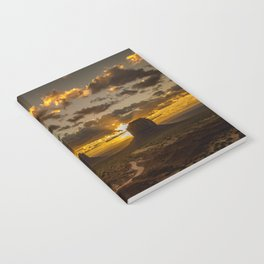 Monument Valley - Vivid Sunrise Notebook