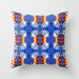 Another look  sunset - Rereading Throw Pillow