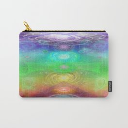 Chakra Activation Geometry Template Carry-All Pouch