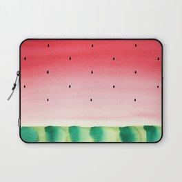 Watermelon in watercolor Laptop Sleeve