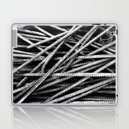 Rebar And Spring - Industrial Abstract Laptop & iPad Skin
