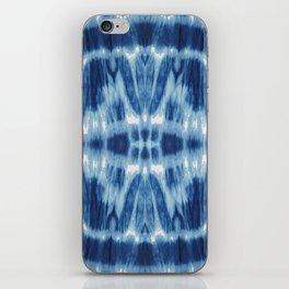 Tie Dye Blues Twos iPhone Skin