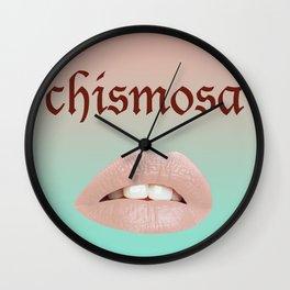 Chismosa Wall Clock