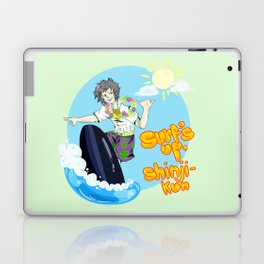 Surf's up, Shinji-kun! Laptop & iPad Skin