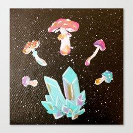 Shroomin' Around Canvas Print