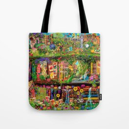 The Secret Garden Book Shelf Tote Bag