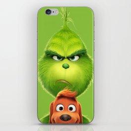 Grinch iPhone Skin
