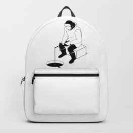 To fish Backpack