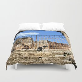 Lonely Dog Duvet Cover