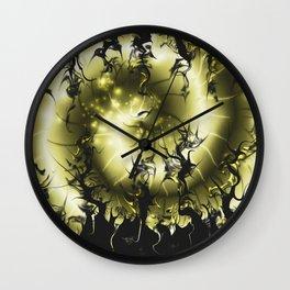 Repressed Scream Wall Clock