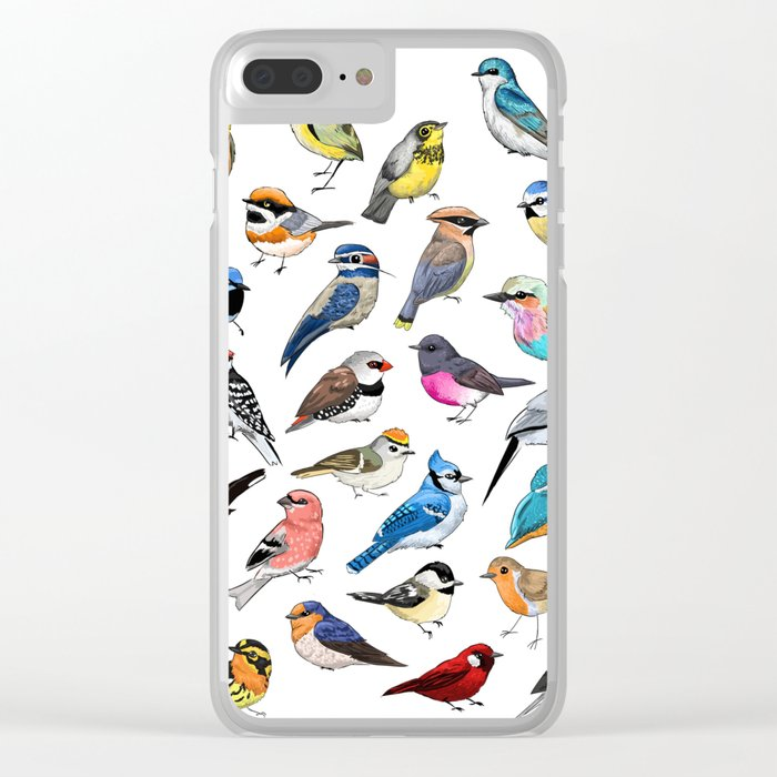 Birds Clear iPhone Case
