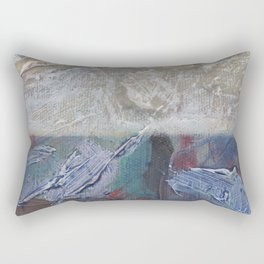 tiny horizon Rectangular Pillow