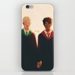 Boys and Hands iPhone Skin