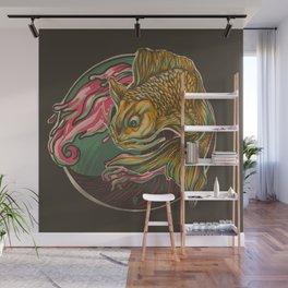 Japanese Fish Wall Mural
