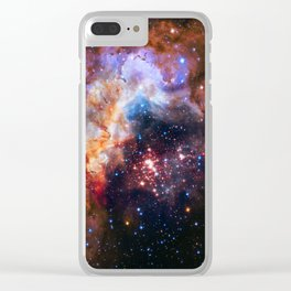 Westerlund Star Field Clear iPhone Case