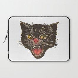 Black Cat Fireworks Laptop Sleeve