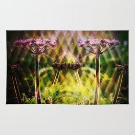 Freaky Plant  Geometric Rug