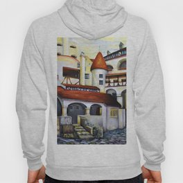 Dracula Castle - the interior courtyard Hoody