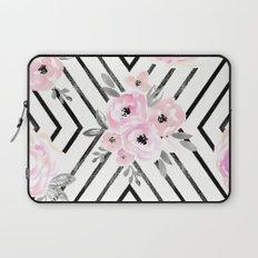 Blush Roses Mod Laptop Sleeve