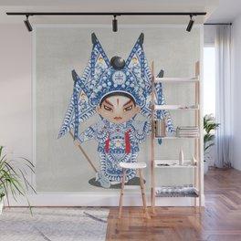 Beijing Opera Character ZhaoYun Wall Mural