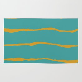Liquid stripes Rug