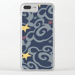 Magic Carpet Clear iPhone Case