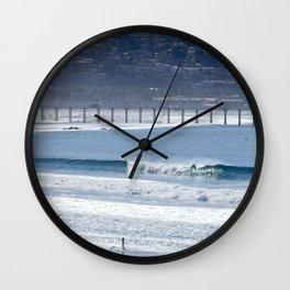 Aqua Playground Wall Clock