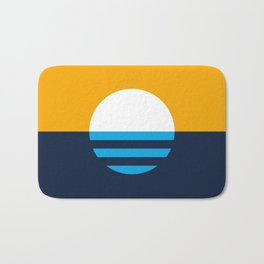 The People's Flag of Milwaukee Bath Mat