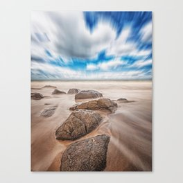 Moving Sky Canvas Print