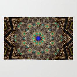 Peacock Mandala A232 Rug