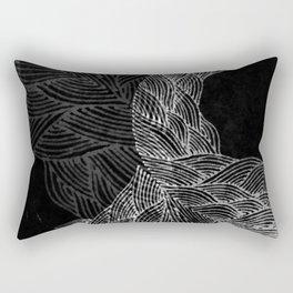 Dark Sea Rectangular Pillow