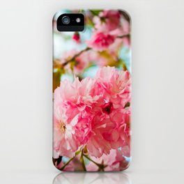 Pink Blooms (1) iPhone Case