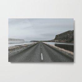 Empty Road - A Love Story Metal Print