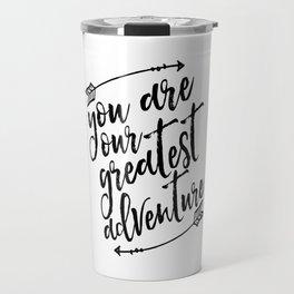 PRINTABLE Art,You Are Our Greatest Adventure,Arrow Print,Nursery Decor,Typography Print,Quotes Travel Mug