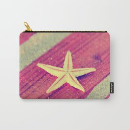Stars and Stripes on the beach Carry-All Pouch