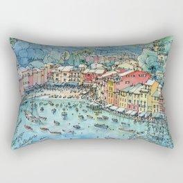Portofino, Italy Rectangular Pillow