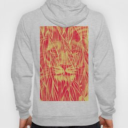 Vintage Bamboo Lion Print Hoody