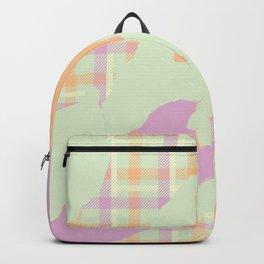 Tartan camo Backpack