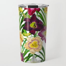 Display of daylilies I Travel Mug