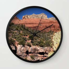 The Face of the Desert Wall Clock
