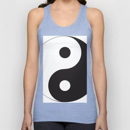 YIN YANG Abstract Art Unisex Tank Top