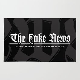 The Fake News Header Rug