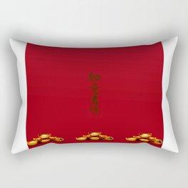 Chinese New Year Greeting Rectangular Pillow