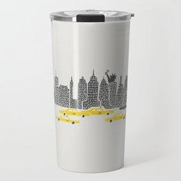 New York City Panoramic Travel Mug