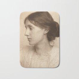 Virginia Woolf Vintage Photo,1902 Bath Mat