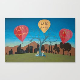 Be School Canvas Print