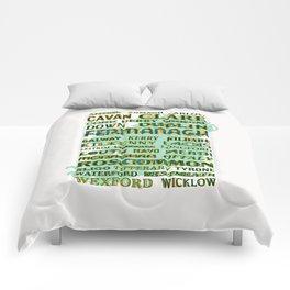 32 Counties Of Ireland Comforters