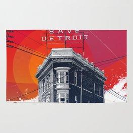 Save Detroit Rug
