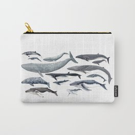 Whale diversity Carry-All Pouch