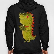 Dino touristo (olive) Hoody